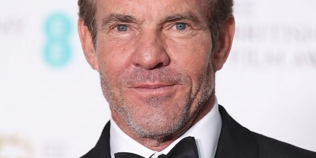 Actor Dennis Quaid is adopting a cat who is also named Dennis Quaid.