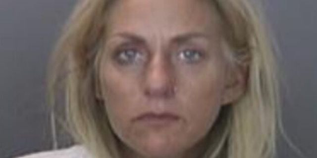 Courtney Fritz Pandolfi, 40, faces murder and other charges in connection with a fatal DUI crash Tuesday in Anaheim, Calif., authorities say. (Anaheim Police Department)