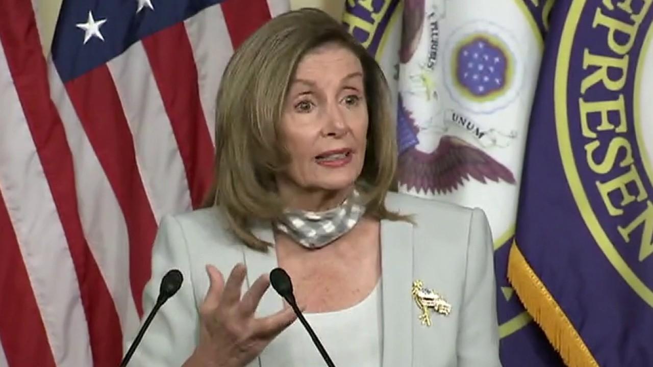 Nancy Pelosi slams GOP for delay in stimulus negotiations