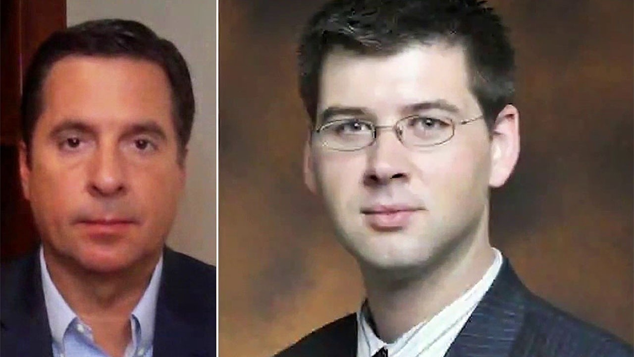 Rep. Nunes on ex-FBI lawyer expected to plead guilty for falsifying documents against Trump campaign