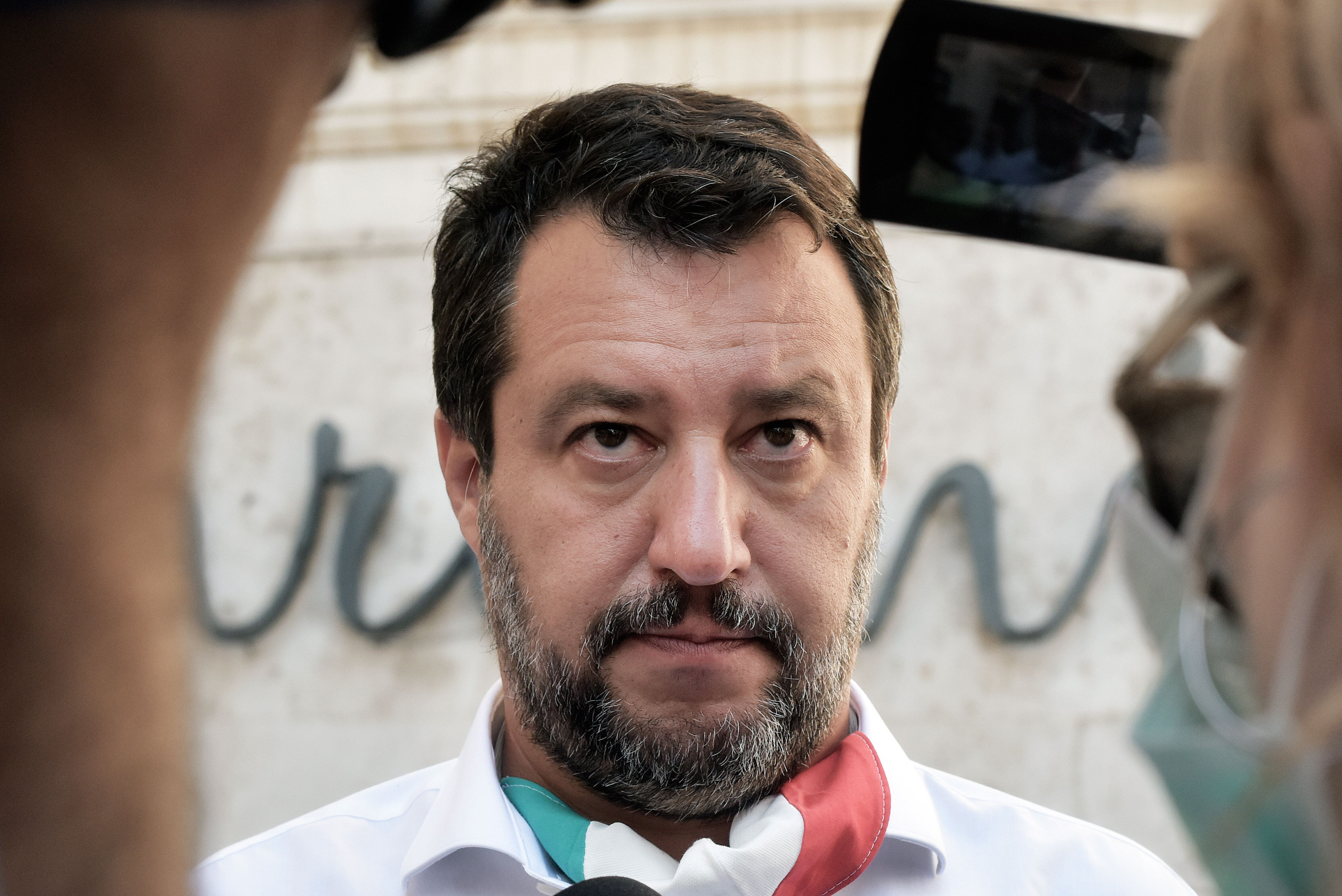 Lega Party leader Matteo Salvini, on July 28 in Rome.