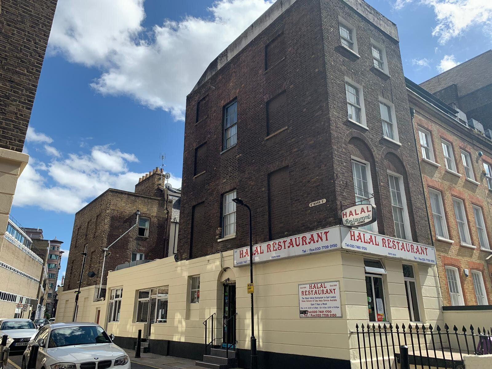Halal Restaurant near Brick Lane