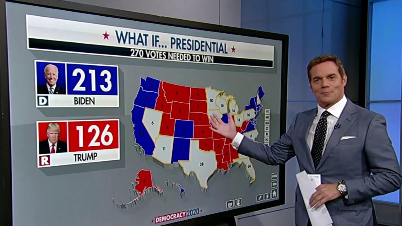 Bill Hemmer breaks down 2020 battleground states, paths to a Trump victory
