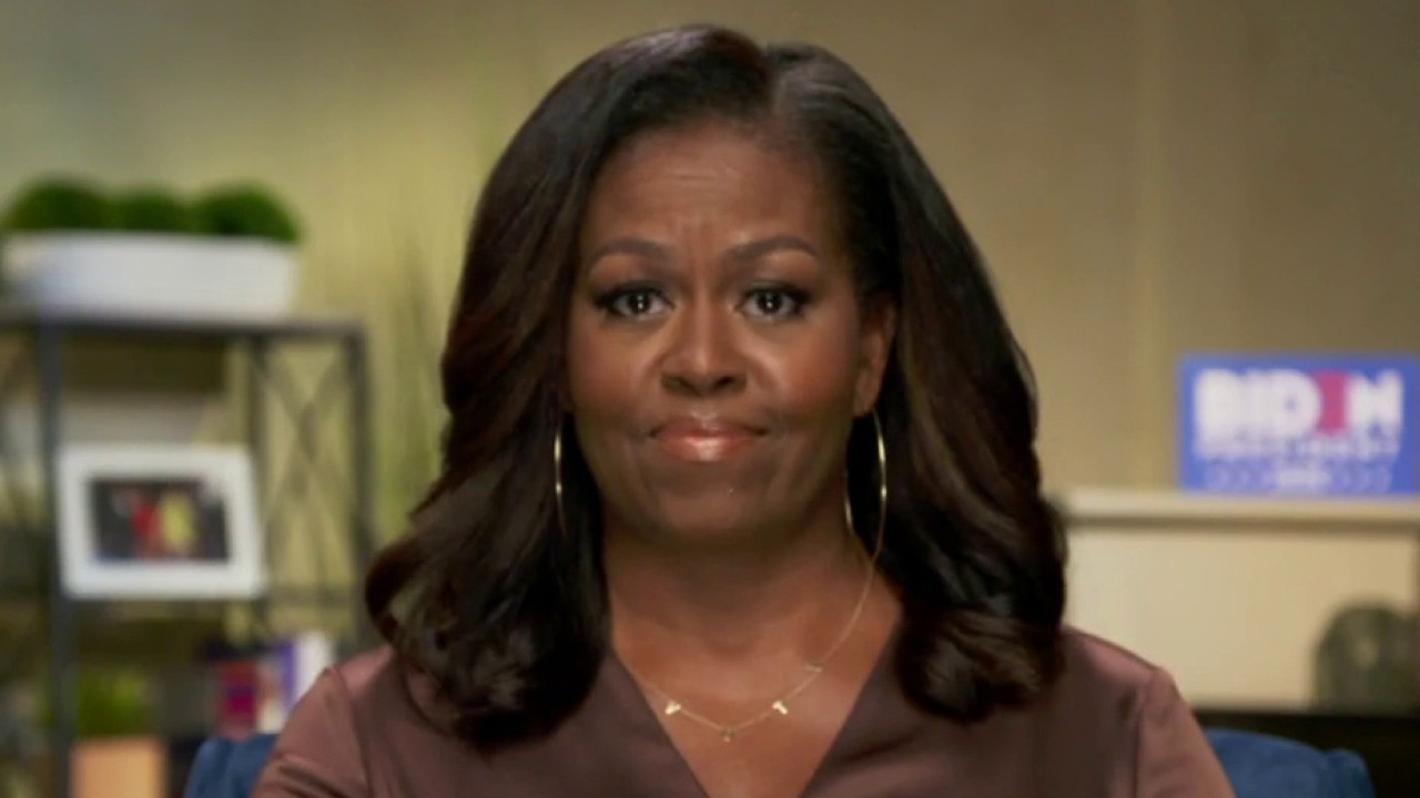 Michelle Obama says Donald Trump is wrong president for America, Joe Biden knows what it takes to lead