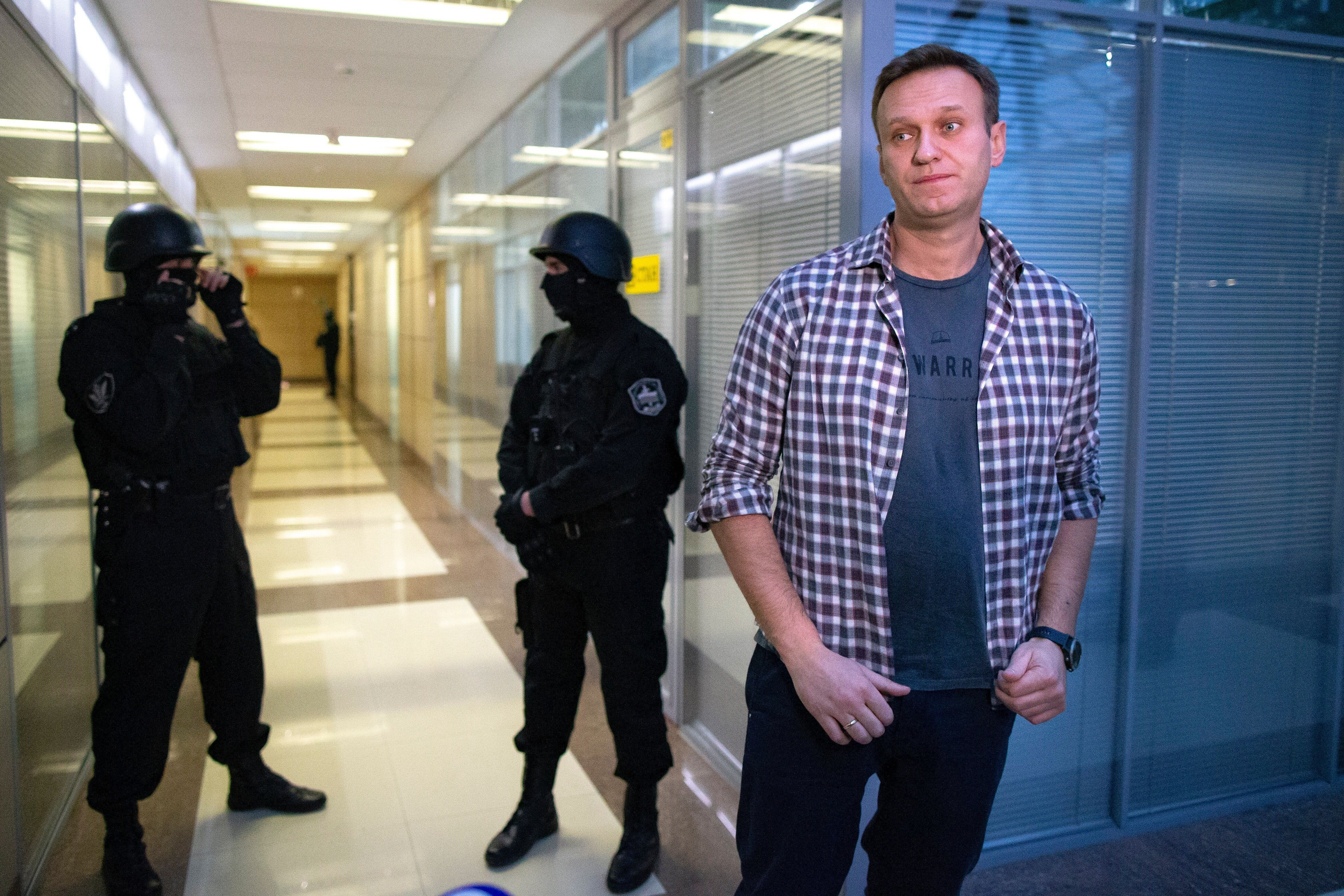 Russian opposition leader Alexei Navalny suffered an acute allergic reaction one doctor said could have resulted from poisoni