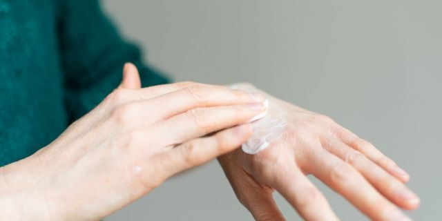 Experts advise carrying hand moisturizer for use after washing and drying your hands. (iStock)