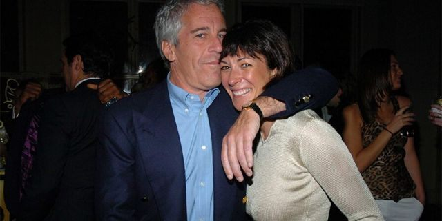 Jeffrey Epstein and Ghislaine Maxwell attend de Grisogono Sponsors.