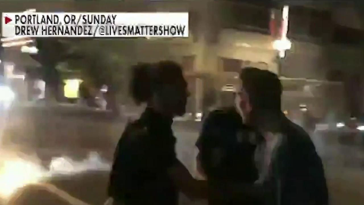 Witness details horrific attack during Portland protest