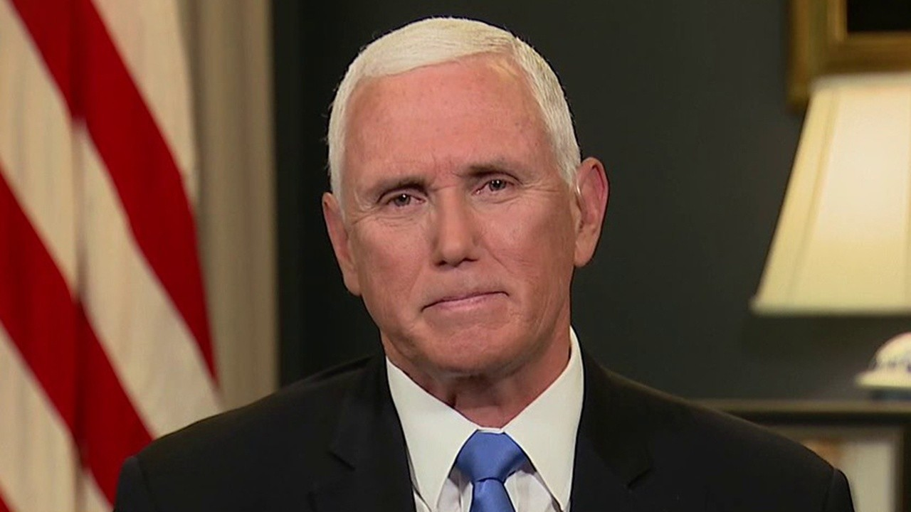 Pence on DNC: We only heard a negative view of America, no acknowledgement of violence in cities