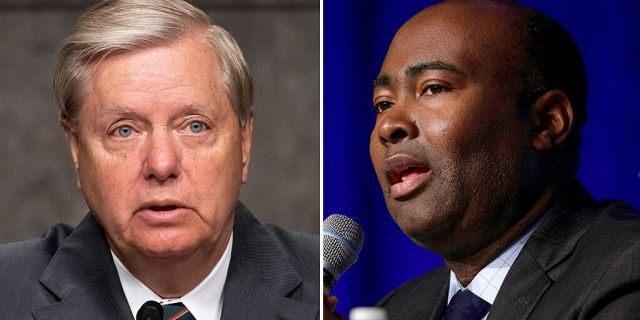 GOP South Carolina Sen. Lindsey Graham is facing a well-funded Democrat, Jaime Harrison.