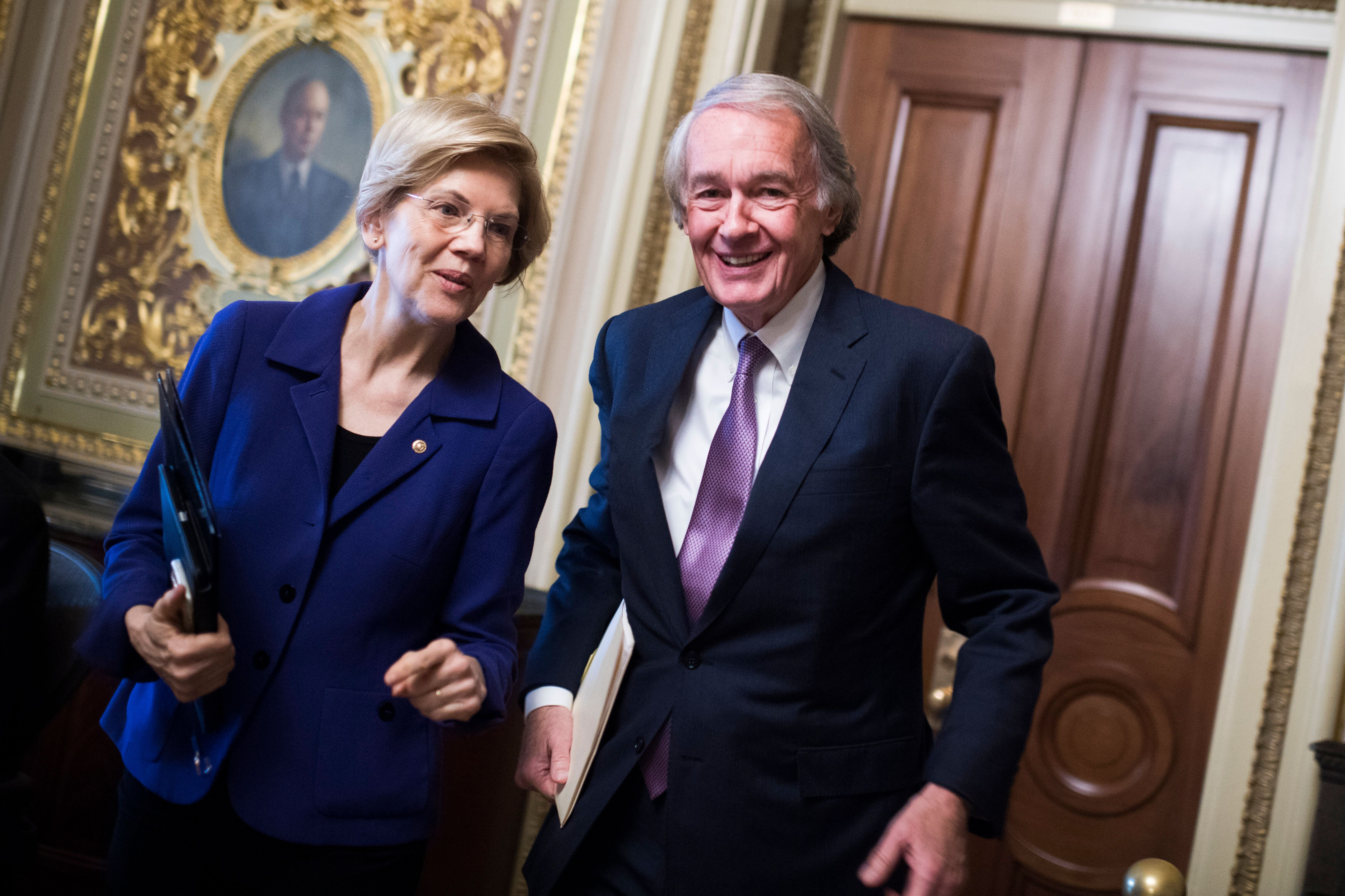 Massachusetts Sens. Ed Markey and Elizabeth Warren, both Democrats, have been pressing the EPA on its order to suspend enforc