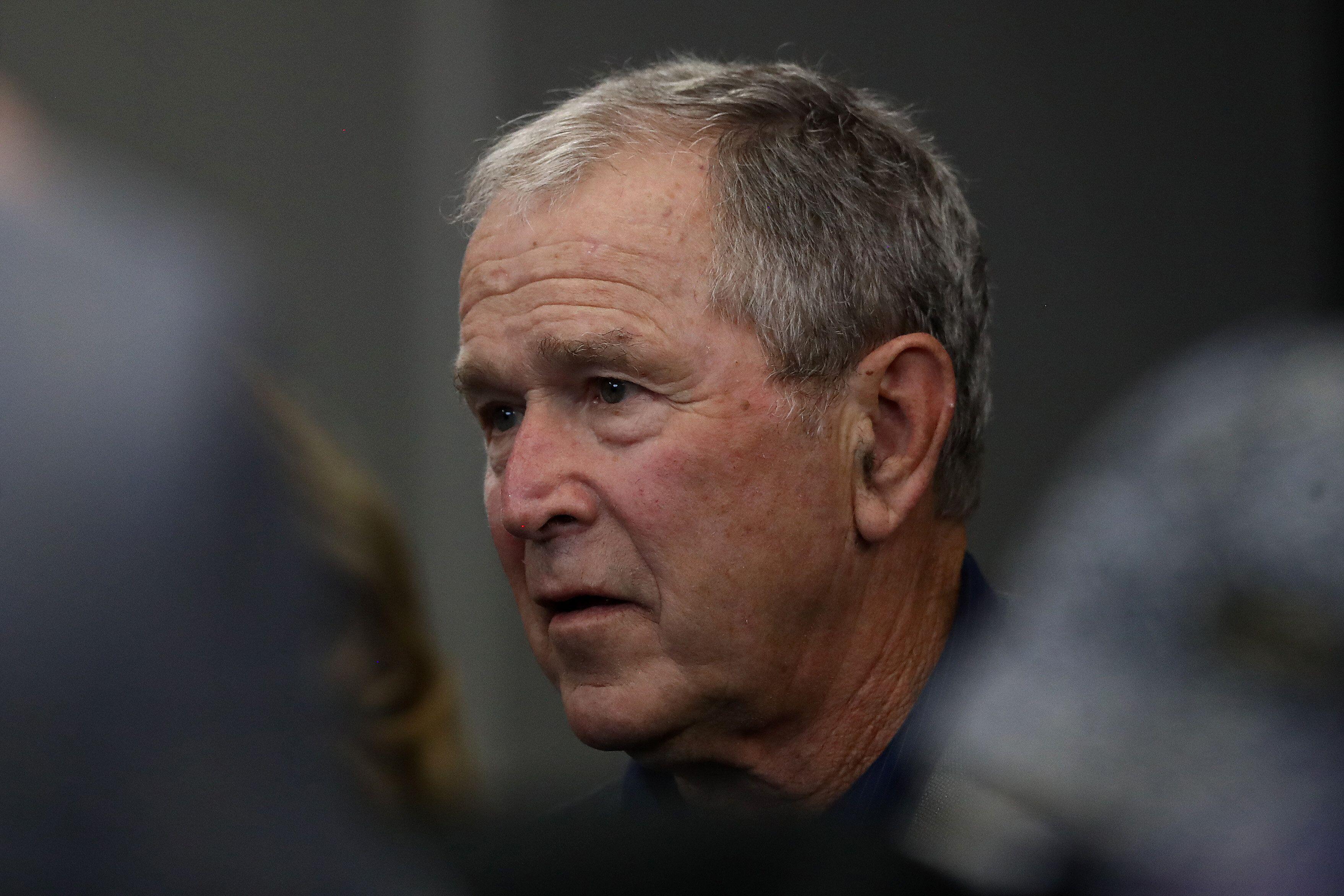 Former President George W. Bush is facing some pressure to endorse the Democratic presidential nominee, Joe Biden.