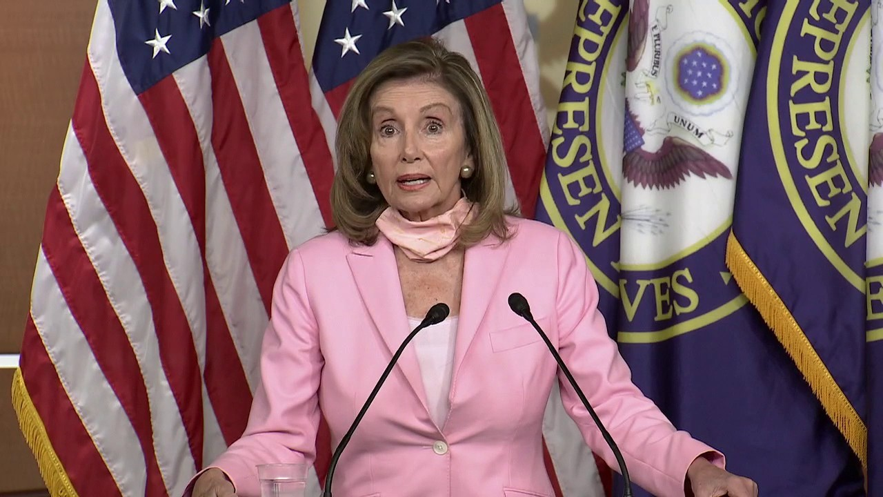 Pelosi: It's very important to shine a light on the Postal Service