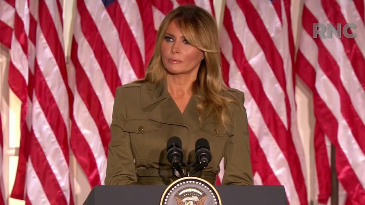 Melania Trump: My husband and his administration will not stop fighting for you