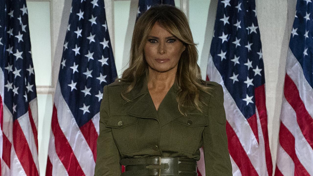 Breaking down Melania Trump's Rose Garden speech to the Republican National Convention