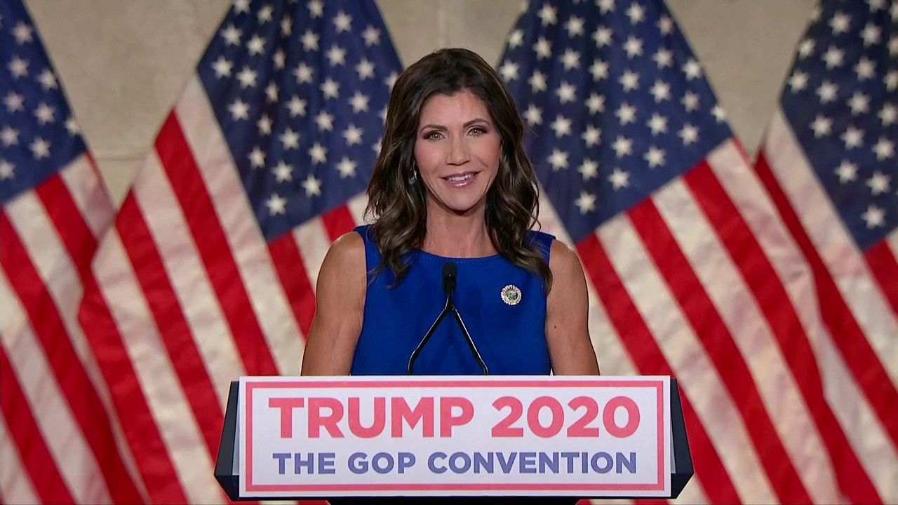 Gov. Kristi Noem: President Trump is fighting for the common American. He's fighting for you