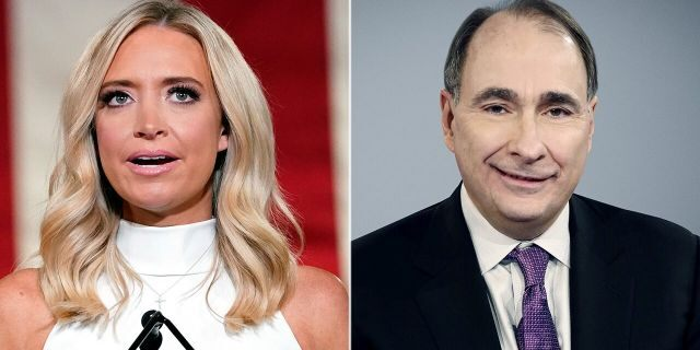 Press Secretary Kayleigh McEnany scolded CNN's David Axelrod after the liberal network's senior political analyst criticized her emotional Republican National Convention speech.