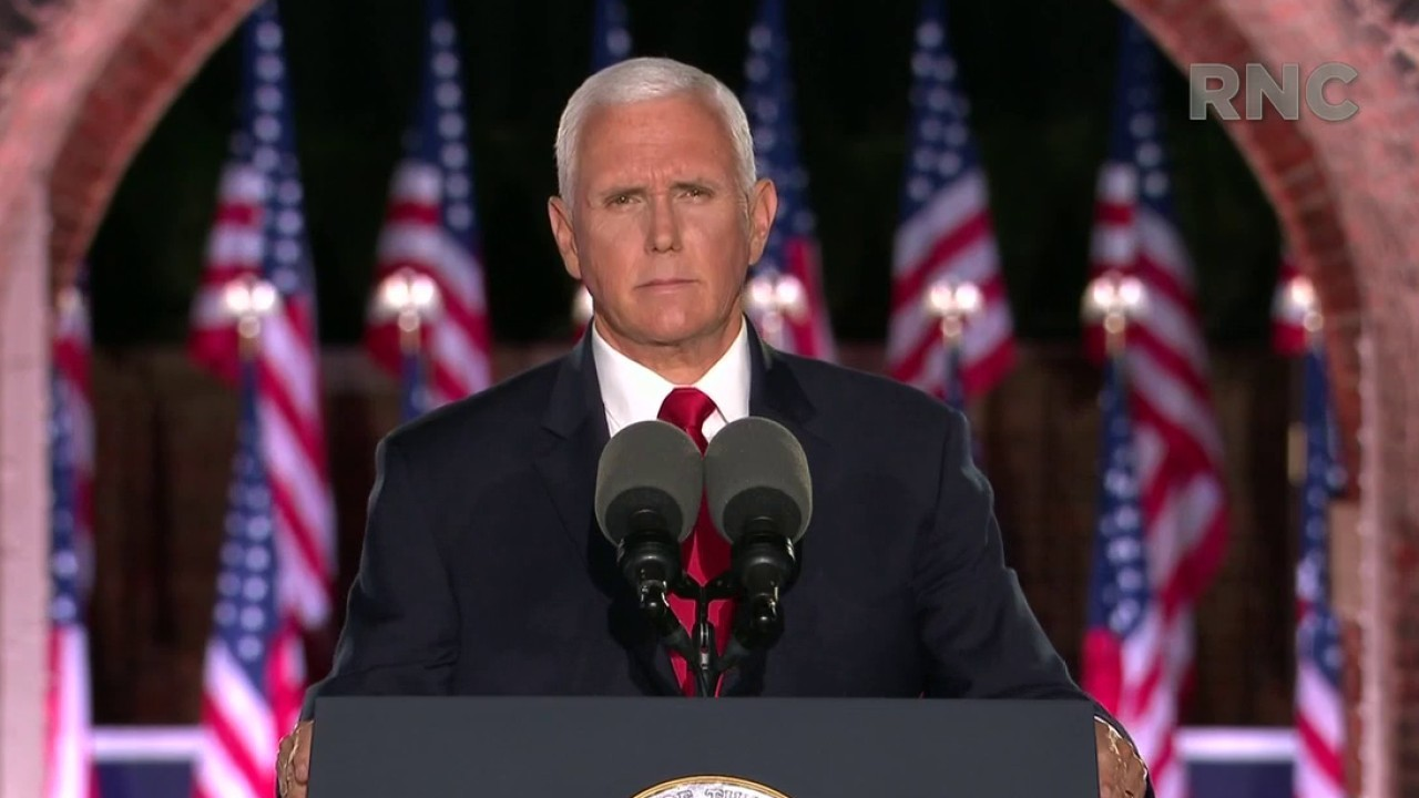 Mike Pence: Reelect Donald Trump and with God's help we'll make America great again, again
