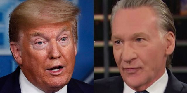 "President Trump recent;y mocked HBO's Bill Maher, saying he ""looks terrible, exhausted, gaunt, and weak."""
