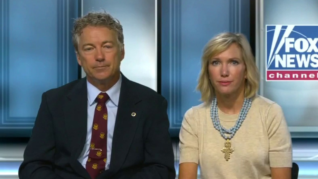 Rand and Kelley Paul describe 'terrifying' encounter with rage mob outside the White House
