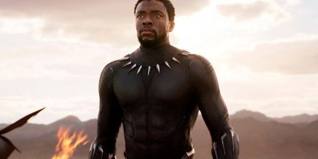 Chadwick Boseman in 'Black Panther,' one of his most notable roles.