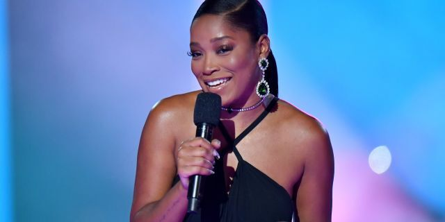 Keke Palmer hosted the 2020 MTV Video Music Awards at the Skyline Drive-In, broadcast on Sunday, August 30, 2020 in New York City. (Photo by Jeff Kravitz/MTV VMAs 2020/Getty Images for MTV)