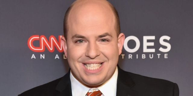 """CNN's Brian Stelter was confronted by a C-SPAN caller whotold him the network is """"dividing our nation."""" (Photo by Kevin Mazur/Getty Images for CNN)"""
