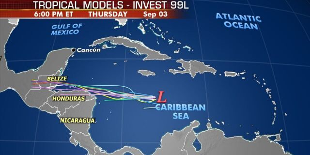 The next tropical system could impact Central America and the Yucatan Peninsula by Wednesday.