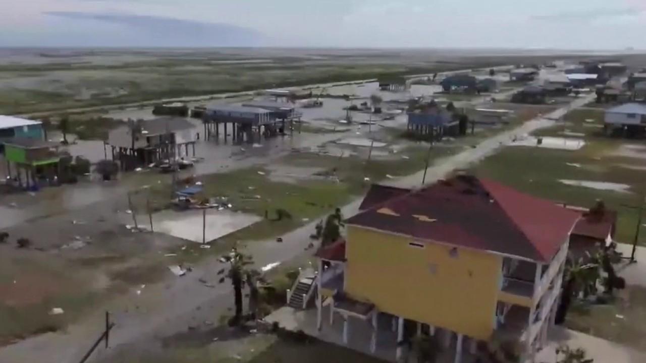 South Louisiana assesses damage from Hurricane Laura's landfall