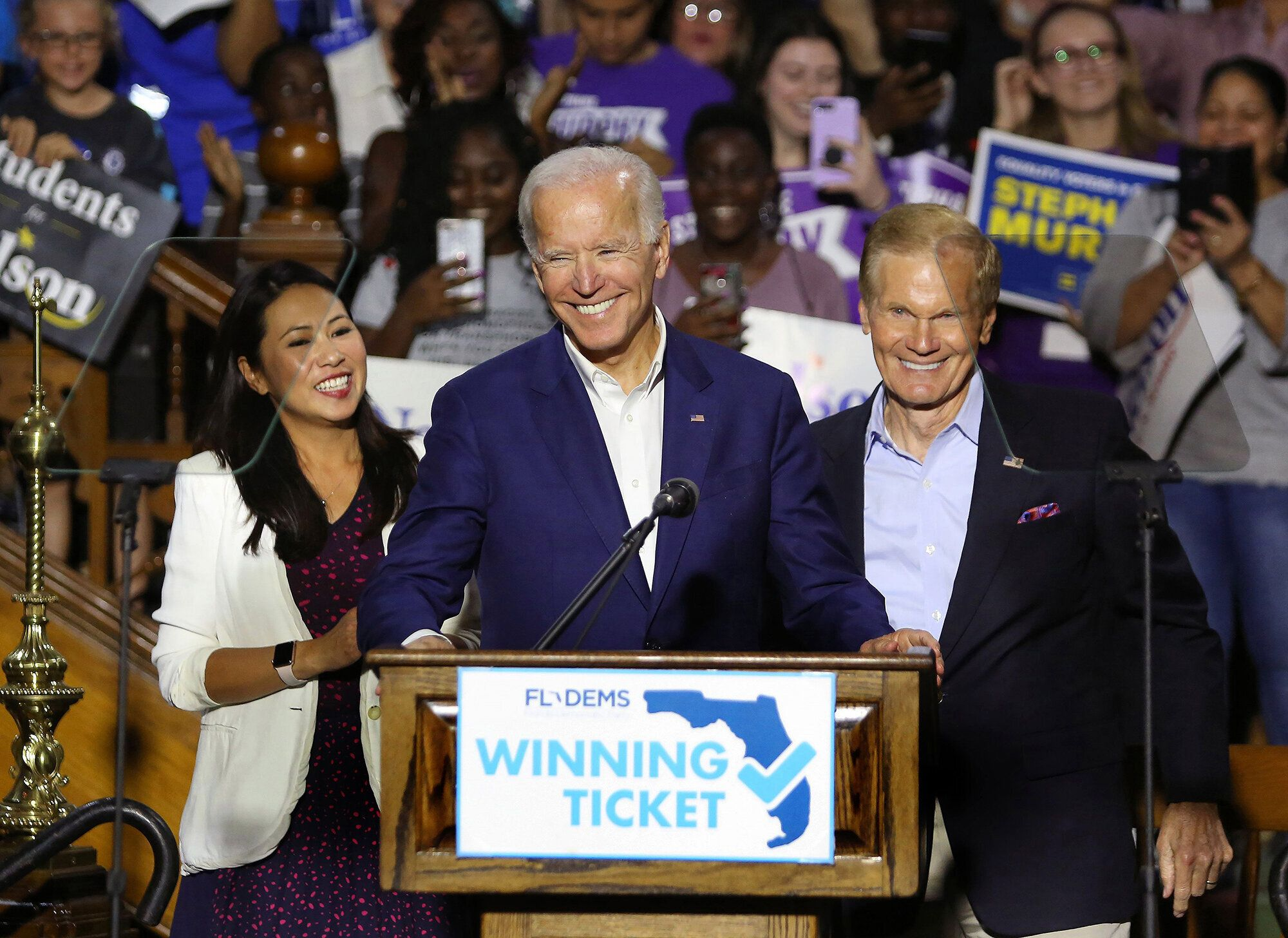 Biden's strategy is informed by Democratic defeats in Florida in 2018, when Sen. Ben Nelson (D) lost his seat as Republican c