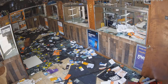 The aftermath of the looting at a store on the 3300 block of West Chicago Avenue on May 31