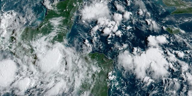 Tropical Storm Nana is moving over Central America, bringing heavy rain and the threat of mudslides.