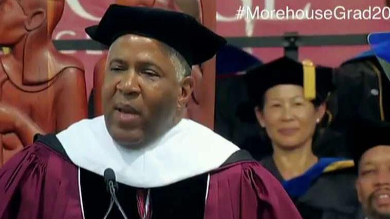 Billionaire Robert Smith expands his gift for 2019 Morehouse college graduates