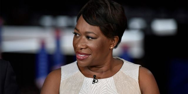 """MEET THE PRESS -- Pictured: Joy-Ann Reid, Host, AM Joy appears on """"Meet the Press"""" in Cleveland, OH, Sunday July 17, 2016. -- (Photo by: Duane Prokop/NBCU Photo Bank/NBCUniversal via Getty Images via Getty Images)"""