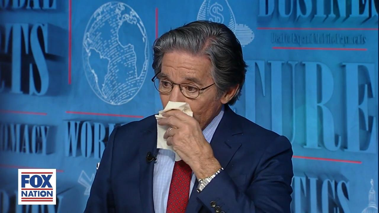 Geraldo Rivera breaks down in tears recalling horrific 'smell, sound and sight' of Willowbrook