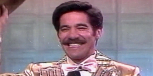 Geraldo Rivera has never appeared on TV without his signature mustache.