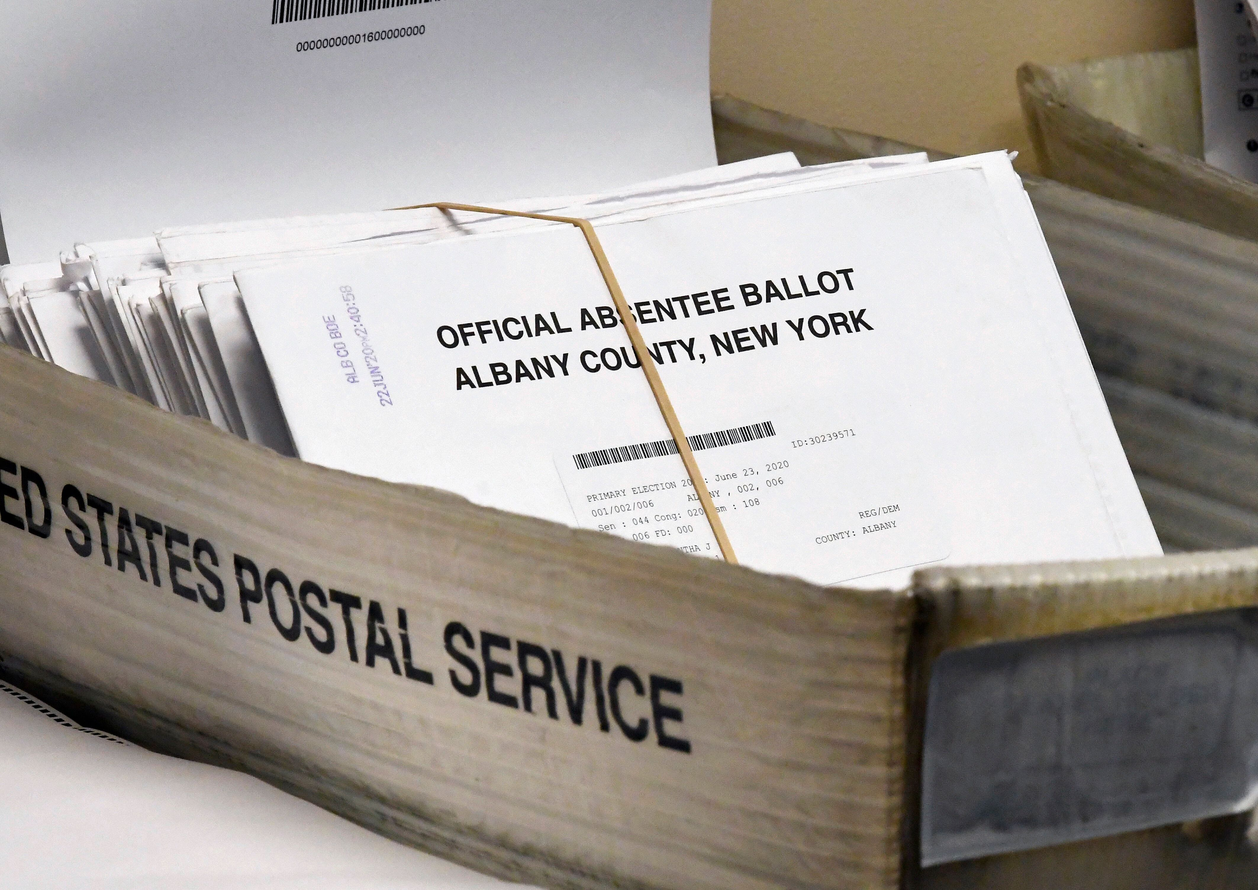 The number of rejected absentee ballots in 2020 primary elections reached almost 1% of all ballots cast — which is high