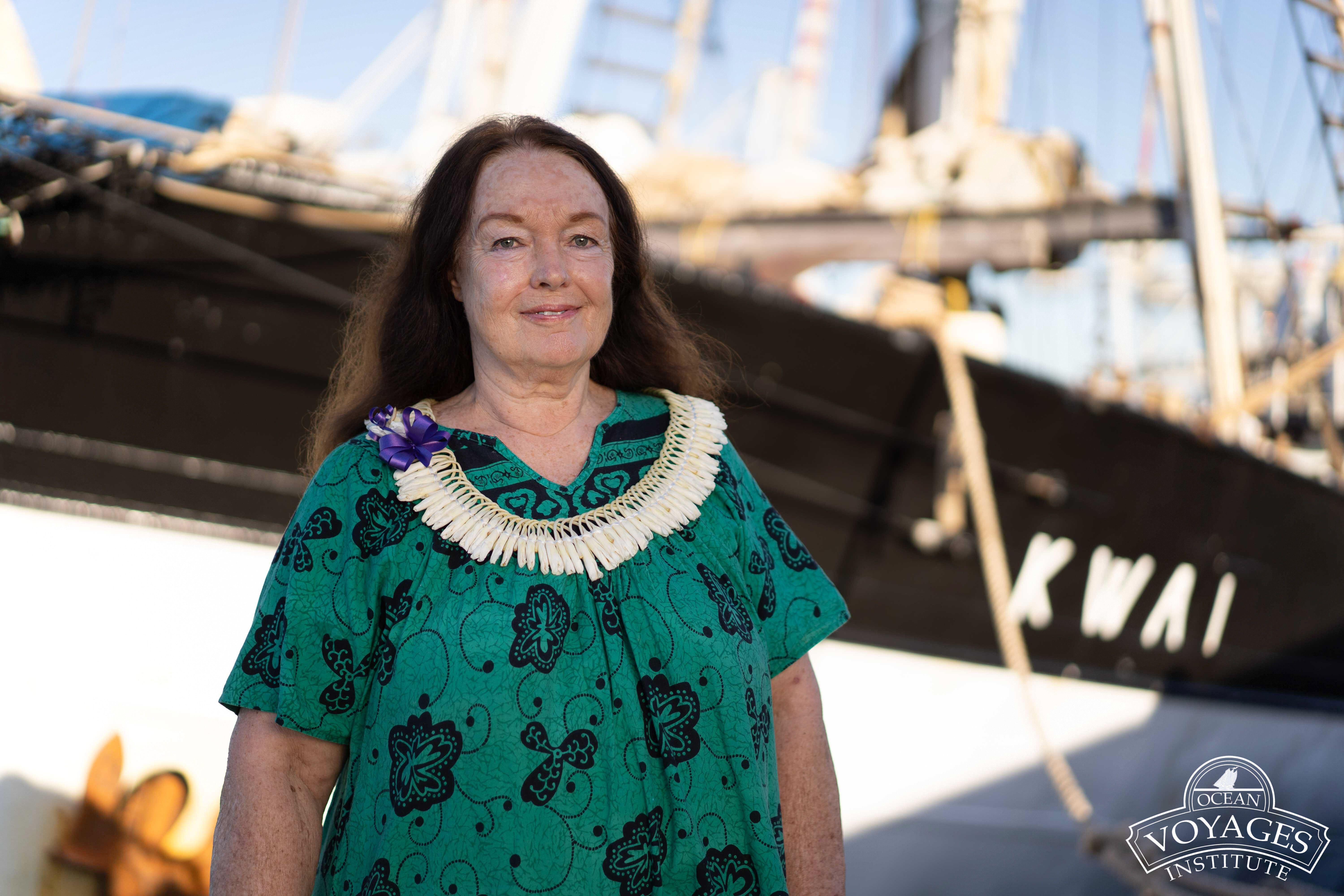 """""""We are on a roll,"""" said Mary Crowly, founder of the Ocean Voyages Institute, of their efforts to clean up the Great Pacific"""