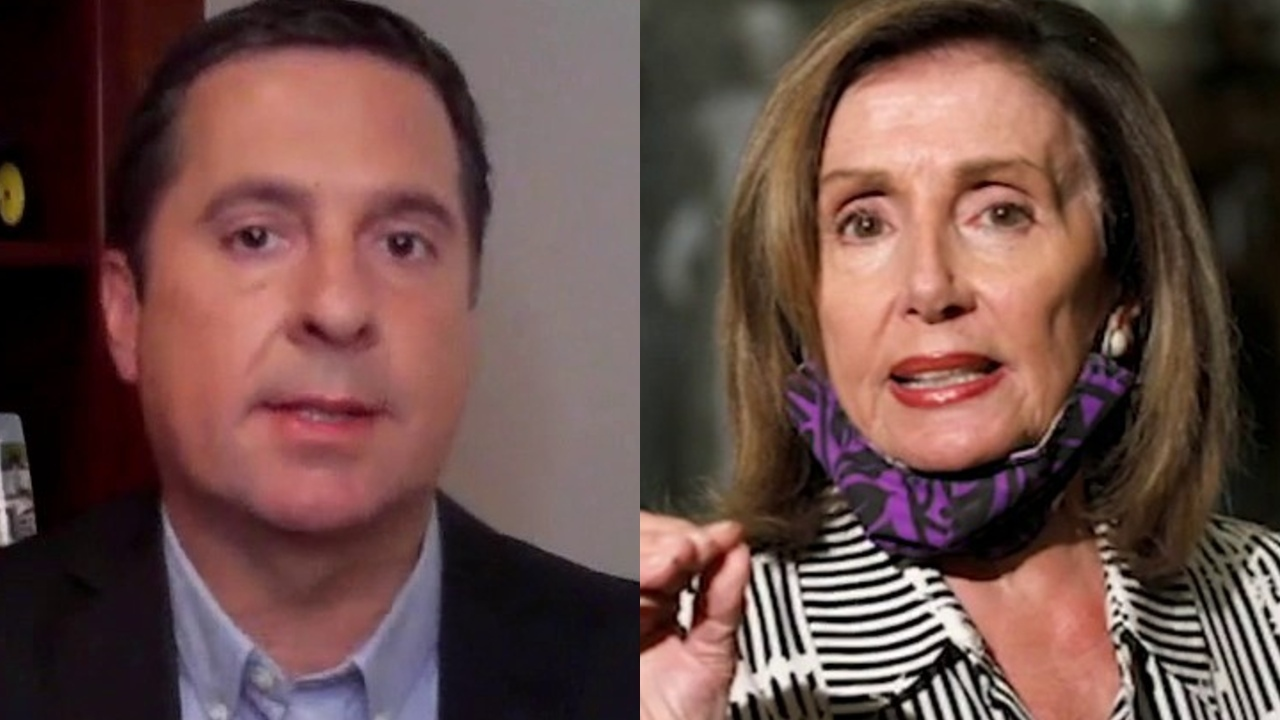 Rep. Nunes: Pelosi had to have been getting her hair done over the last 6 months