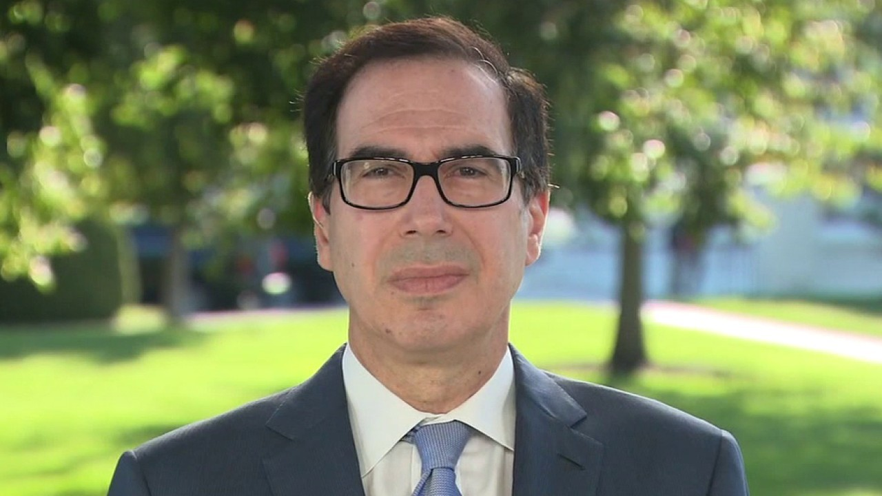 Secretary Mnuchin on jobs recovery, status of COVID relief package