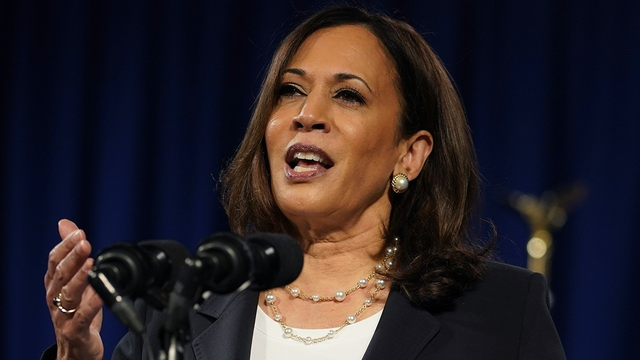 Kamala Harris says she won't take President Trump's word on COVID vaccine safety