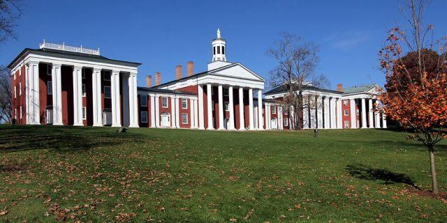 The campus of Washington & Lee University in Lexington, Va.