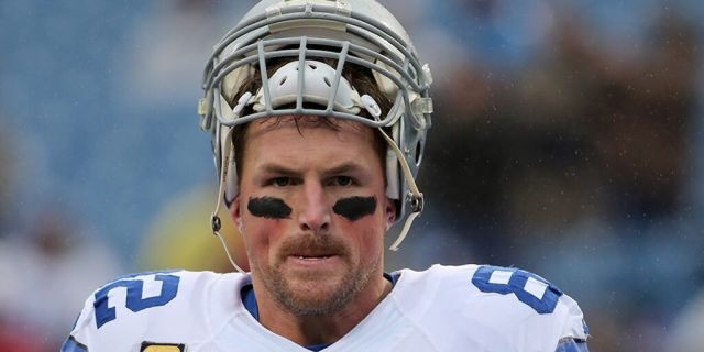 Jason Witten signed with the Las Vegas Raiders in the offseason. (Kellen Micah/Icon Sportswire/Corbis via Getty Images)