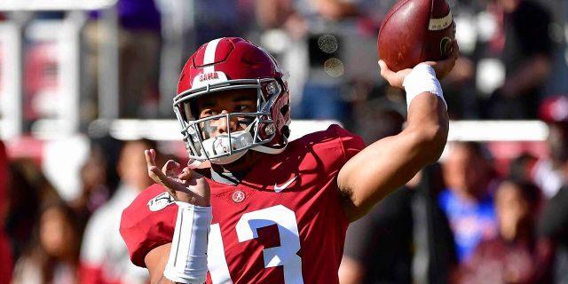 Alabama quarterback Tua Tagovailoa was drafted by Miami. (AP Photo/Vasha Hunt))