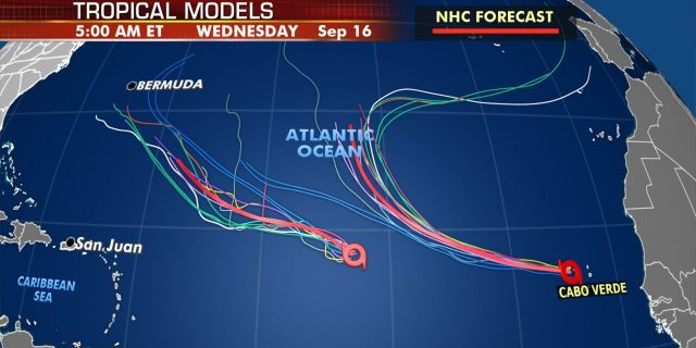 Tropical models show that Paulette will draw closer to Bermuda by next week.