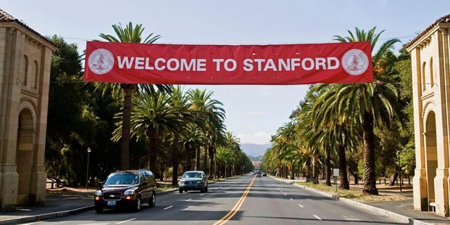 """Stanford University in California, United States. The campus hosted a series of discussions last month titled: """"Sitting with the Trouble: Spiritual Tools for Ending the Racial Terror."""""""