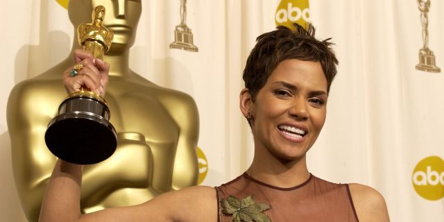 Halle Berry made history in 2002 by becoming the first Black woman to win the Oscar for best actress in a leading role for her performance in 'Monster's Ball.' (Photo by SGranitz/WireImage)