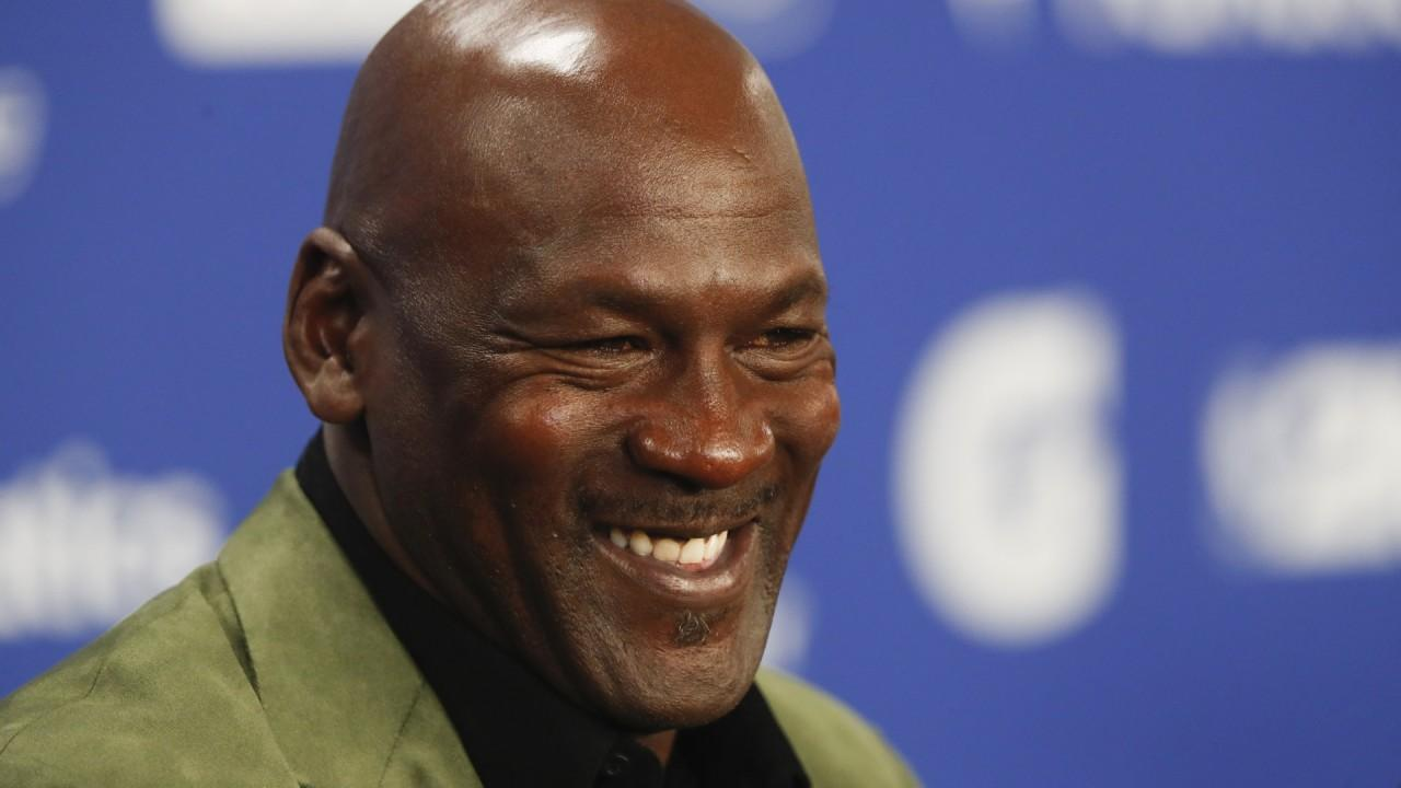 Barstool Sports president and founder Dave Portnoy responds to NBA superstar Michael Jordan getting an equity stake in DraftKings, saying Jordan is a 'notorious gambler' and he doesn't know how this helps the company long-term.
