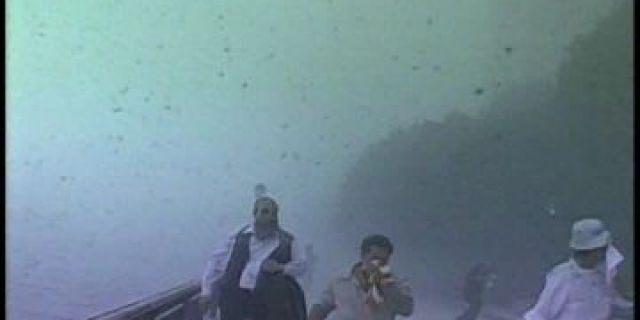 Battery Park on September 11, 2001.