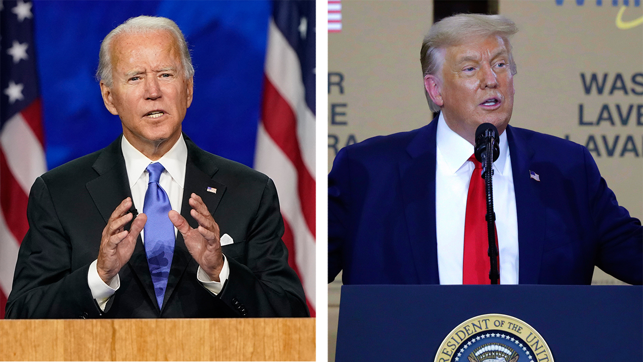 Fox News poll: President Trump trails Joe Biden in key battleground states